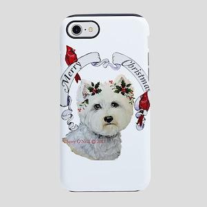 A Very Westie Christmas iPhone 7 Tough Case