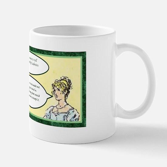 Jane Austen Hunsford Proposal Mug