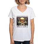 STREETROD MUTINY Women's V-Neck T-Shirt
