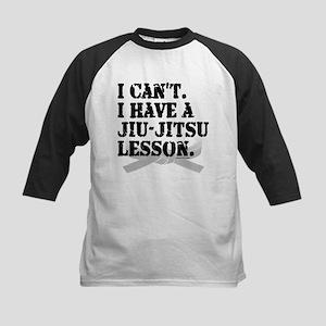 I CAN'T. I HAVE A JIU-JITSU L Kids Baseball Jersey
