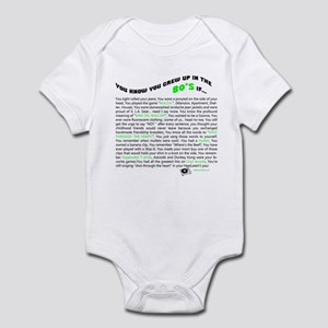 You know you grew up in the 80's if... Infant Body