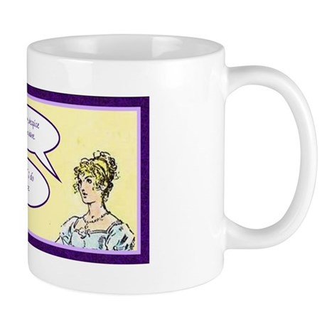 Jane Austen Pride and Prejudice quote Mug
