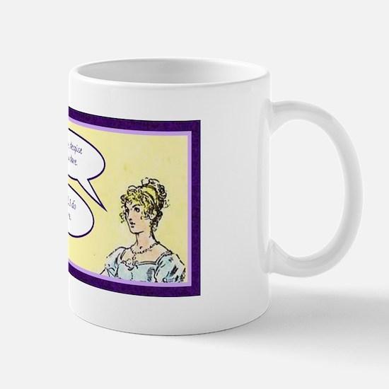 Jane Austen Pride and Prejudice quote Mug