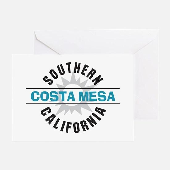 Costa Mesa California Greeting Card