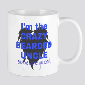Crazy bearded uncle Mugs