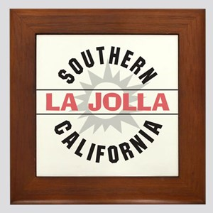 La Jolla Califronia Framed Tile
