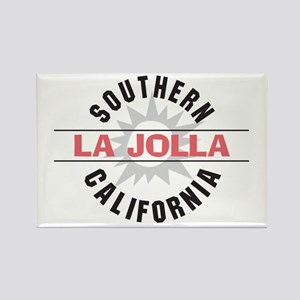 La Jolla Califronia Rectangle Magnet