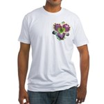 Lavender w/ Gold Daylily Fitted T-Shirt