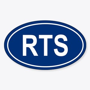 RTS Oval Sticker