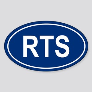 RTS Oval Sticker