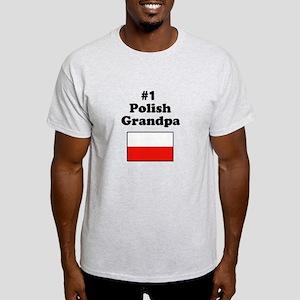 #1 Polish Grandpa Light T-Shirt