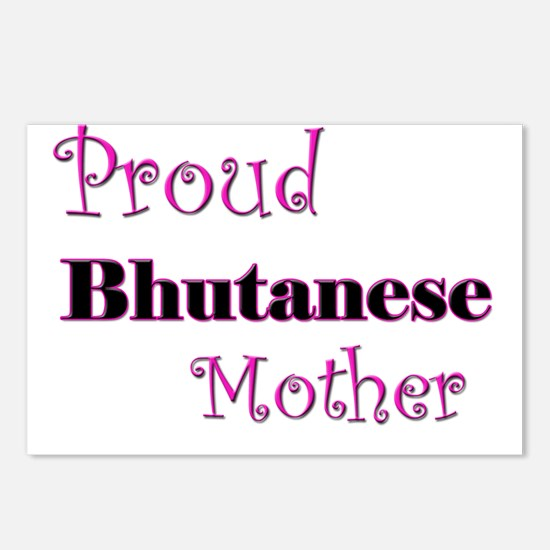 Proud Bhutanese Mother Postcards (Package of 8)