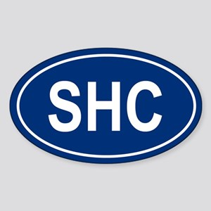 SHC Oval Sticker
