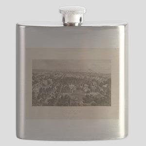 City of BUffalo Flask