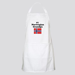 #1 Norwegian Grandpa BBQ Apron