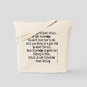 Life Unbuckled Tote Bag