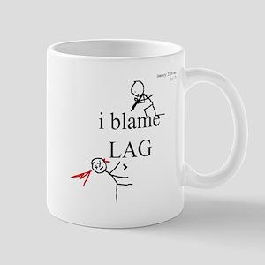 i blame LAG Mug