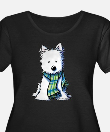 Plaid Scarf Westie T