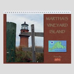 Martha's Vineyard Photo Wall Calendar