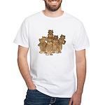 Gold Cows White T-Shirt