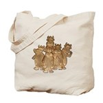 Gold Cows Tote Bag