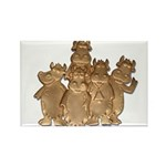 Gold Cows Rectangle Magnet (100 pack)
