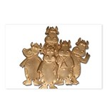 Gold Cows Postcards (Package of 8)