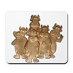 Gold Cows Mousepad