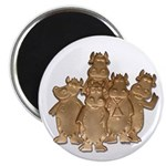 """Gold Cows 2.25"""" Magnet (10 pack)"""