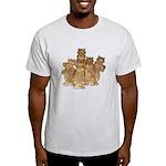 Gold Cows Light T-Shirt