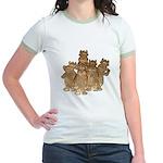 Gold Cows Jr. Ringer T-Shirt