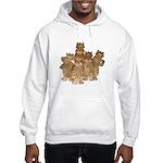 Gold Cows Hooded Sweatshirt
