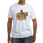 Gold Cows Fitted T-Shirt