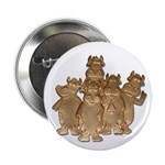 """Gold Cows 2.25"""" Button (10 pack)"""