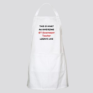 awesome gt government Light Apron