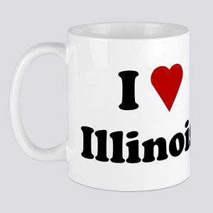 I Love Illinois Mug