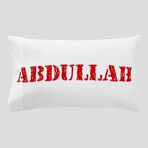 Abdullah Rustic Stencil Design Pillow Case