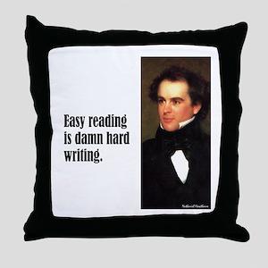 "Hawthorne ""Easy Reading"" Throw Pillow"