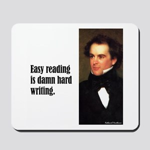 "Hawthorne ""Easy Reading"" Mousepad"