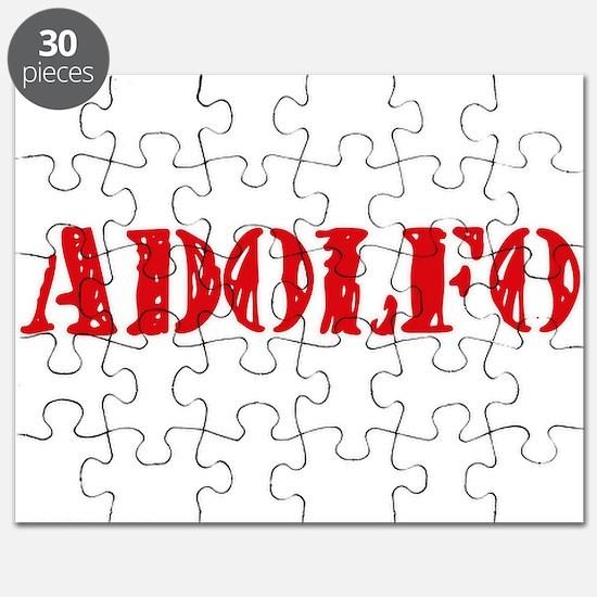 Adolfo Rustic Stencil Design Puzzle