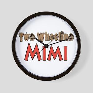 CLICK 2 wheelin Mimi Wall Clock