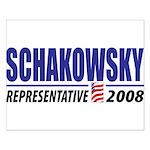 Schakowsky 2008 Small Poster