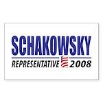 Schakowsky 2008 Rectangle Sticker