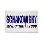 Schakowsky 2008 Rectangle Magnet (100 pack)