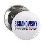 """Schakowsky 2008 2.25"""" Button"""
