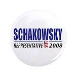"""Schakowsky 2008 3.5"""" Button (100 pack)"""