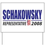Schakowsky 2008 Yard Sign