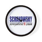 Schakowsky 2008 Wall Clock