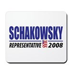 Schakowsky 2008 Mousepad