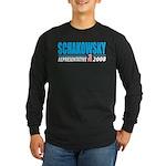 Schakowsky 2008 Long Sleeve Dark T-Shirt